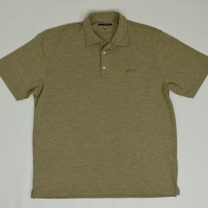 Greg Norman Big & Tall XXXL Beige   Polo Polyester
